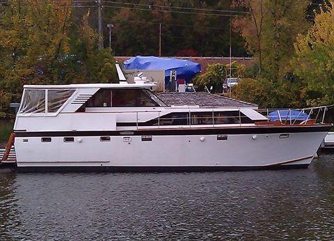 1973 Trojan Flush Deck Motor Yacht