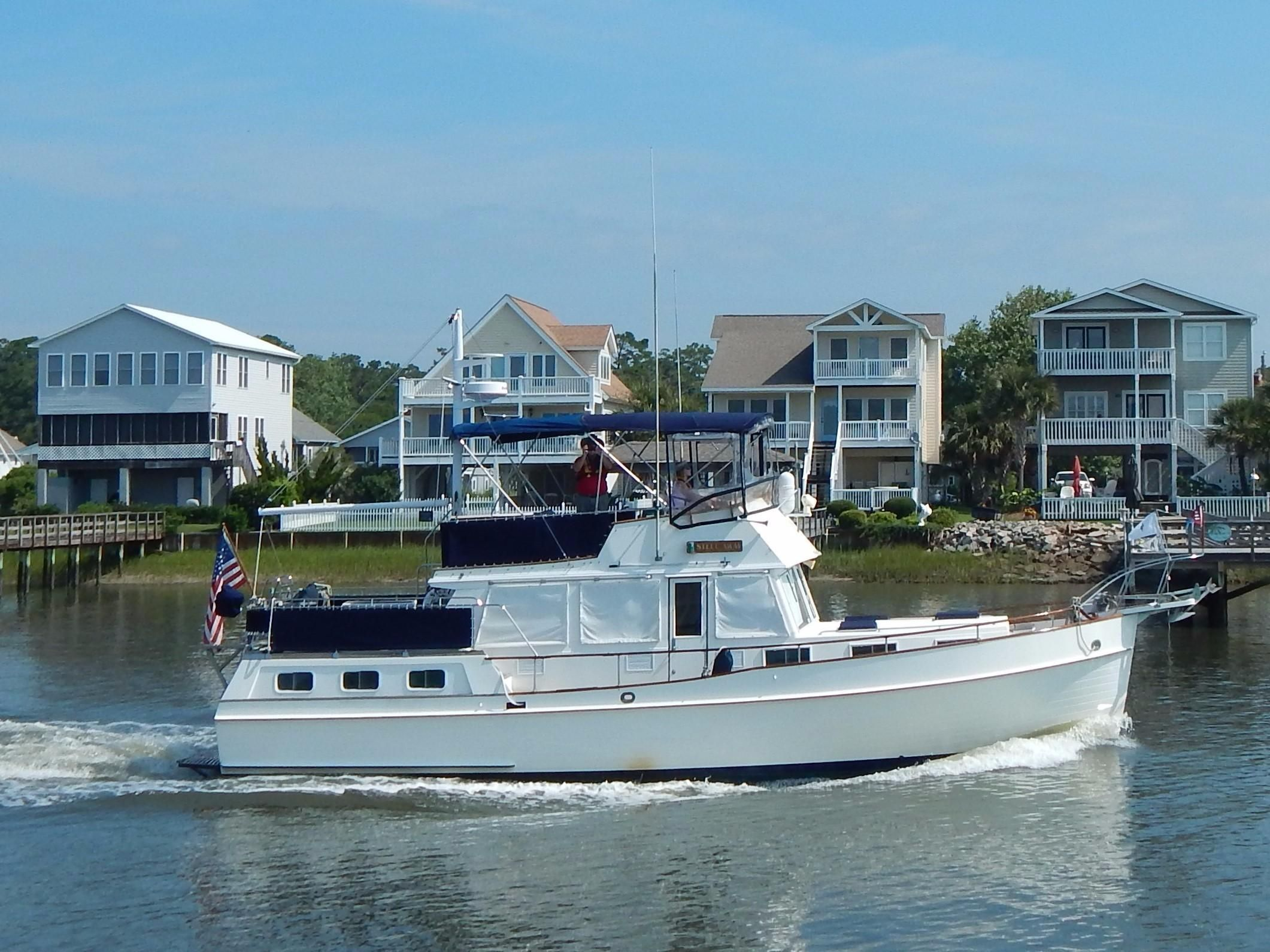 1986 grand banks 42 motoryacht power new and used boats for Grand banks motor yachts for sale