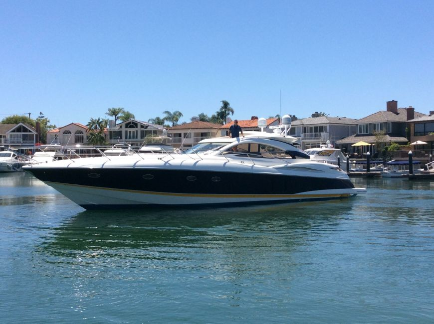 2002 Predator 61 yacht for sale in Newport Beach