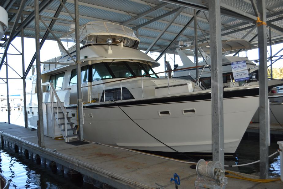 1986 Hatteras 58 Motor Yacht Power Boat For Sale - www