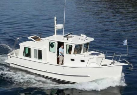 2010 North Pacific 28 Pilothouse