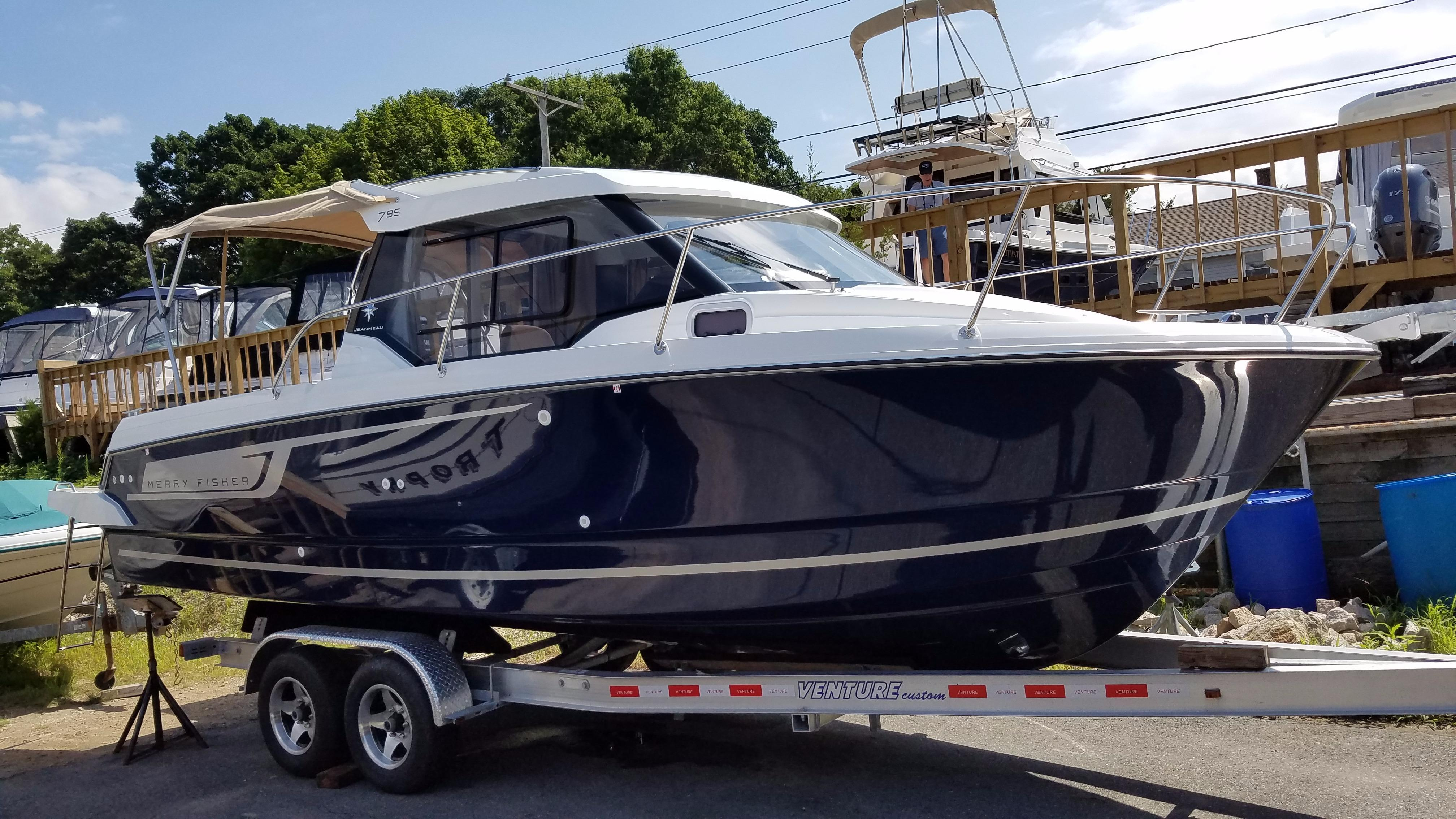 2018 Jeanneau NC 795 Power Boat For Sale - www.yachtworld.com