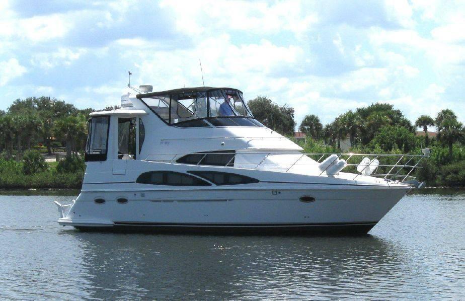2005 carver 39 motor yacht power boat for sale www. Black Bedroom Furniture Sets. Home Design Ideas