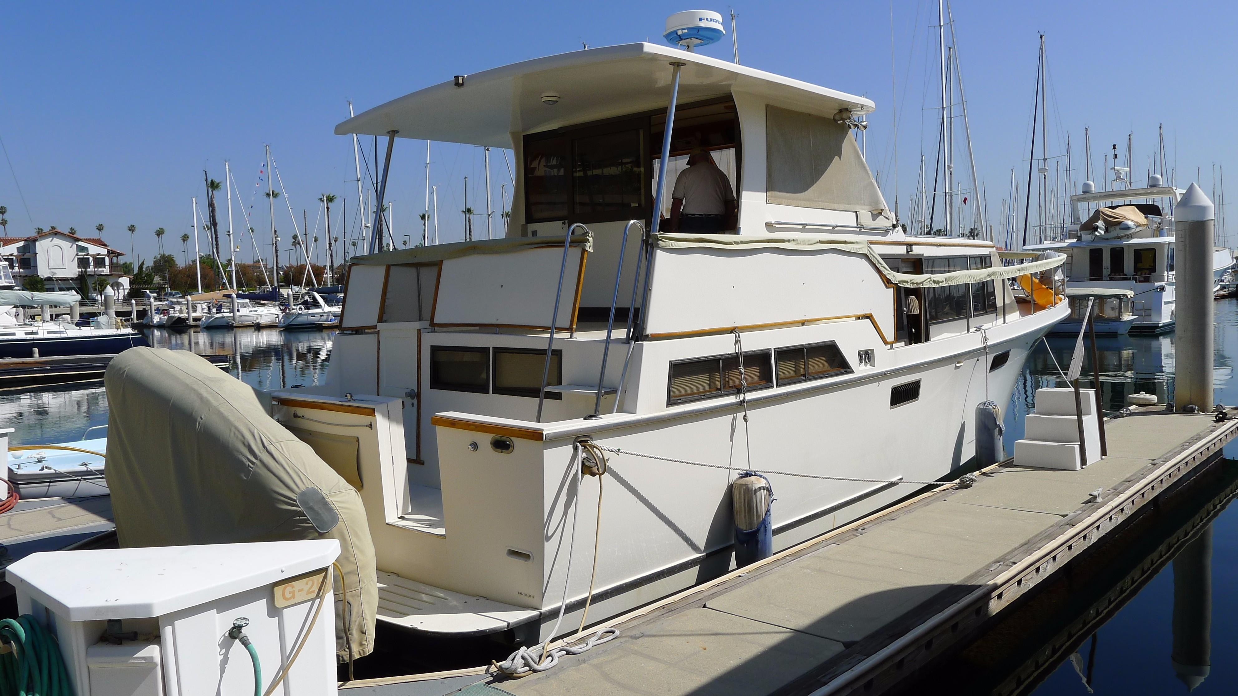 1986 Roughwater 42 Pilothouse Power New and Used Boats for ...