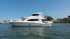 2007 Hatteras 64 Convertible Enclosed Bridge