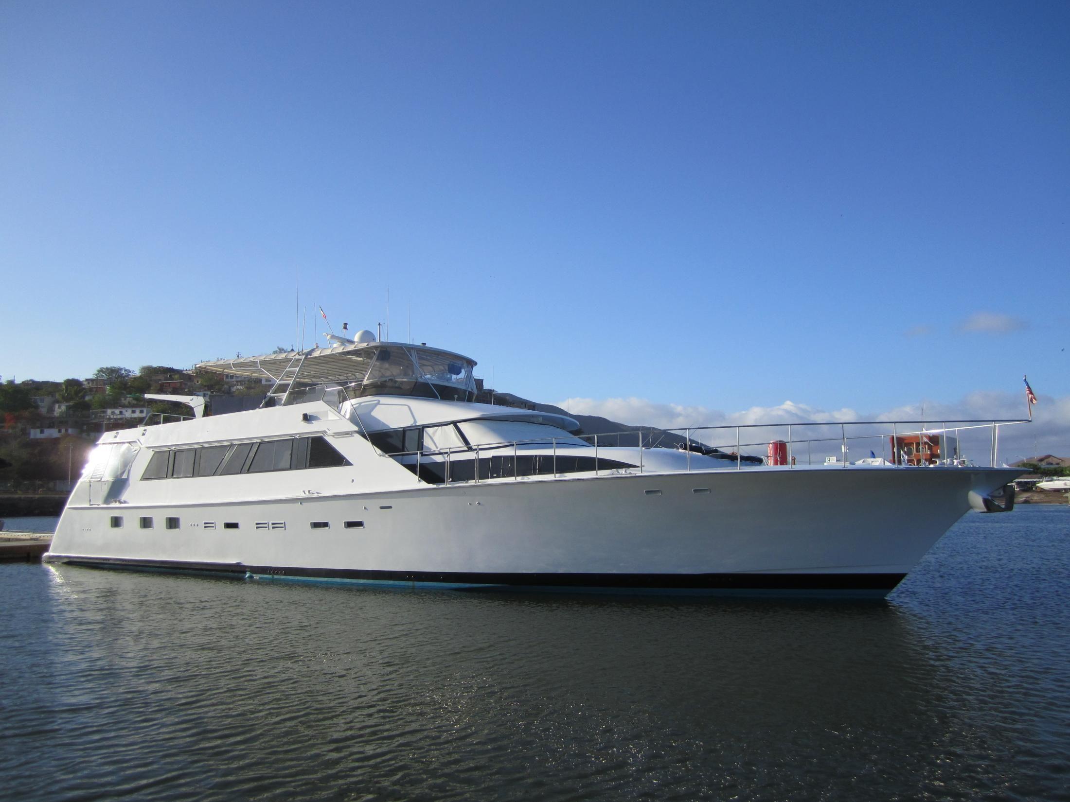 1991 Cheoy Lee Motoryacht Power Boat For Sale Www