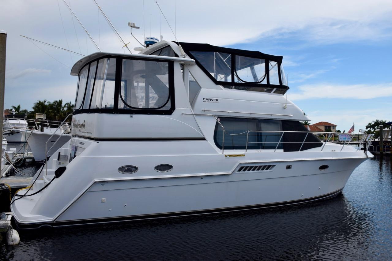 Carver 406 Aft Cabin Motor Yacht Boats For Sale Yachtworld