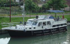 2004 Aquanaut 1150 AK Dutch Steel Cruiser