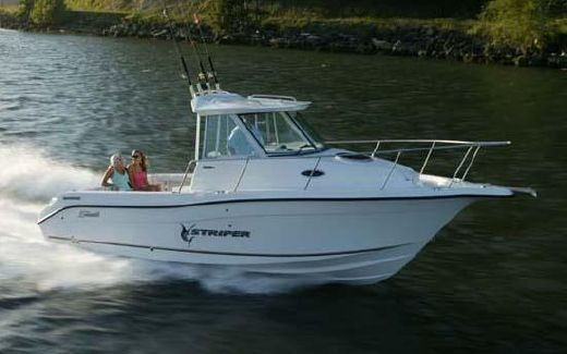 2007 Seaswirl Striper 2601 Walkaround I/O