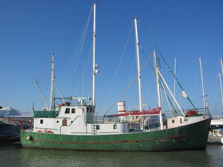1959 Baleniera Mfv Lodose (sweden) Trawler