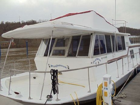 1969 Chris Craft 46 Aquahouse