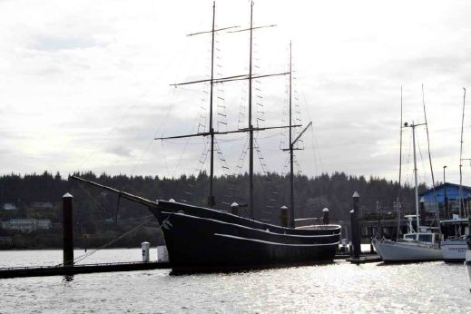 1966 Charter Sailboat Classic Square Rig