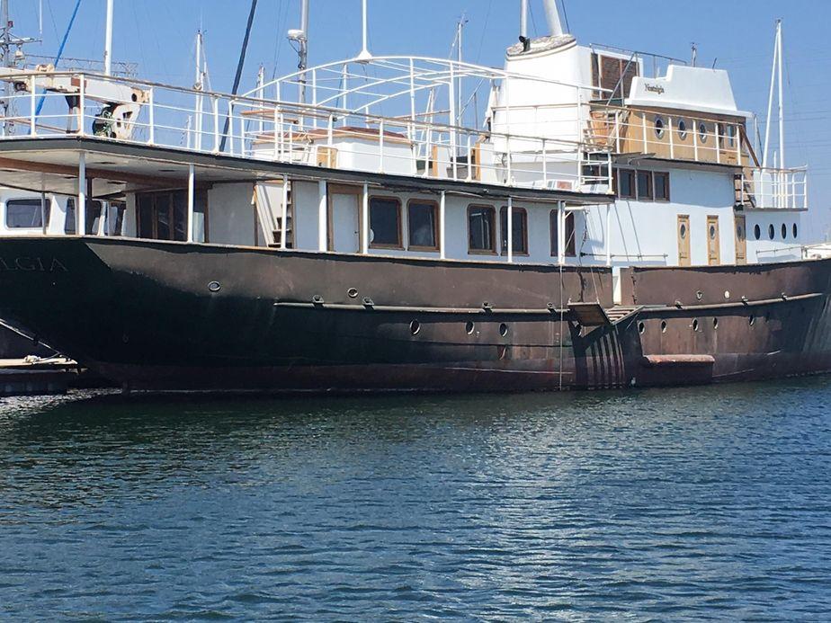 1930 custom yacht