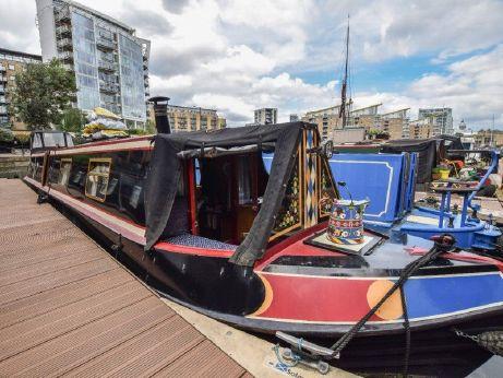 1989 Narrowboat 50ft with London mooring