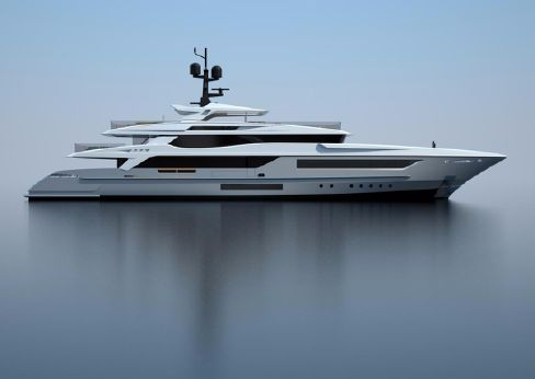 2018 Baglietto 55m - under construction