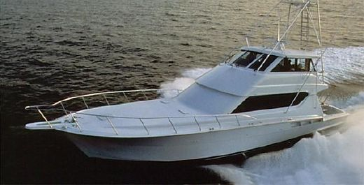 2003 Hatteras 70 Convertible