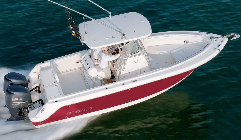 2018 robalo r260 center console power boat for sale www for Robalo fish in english