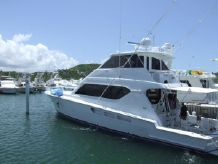 2001 Hatteras Enclosed Bridge