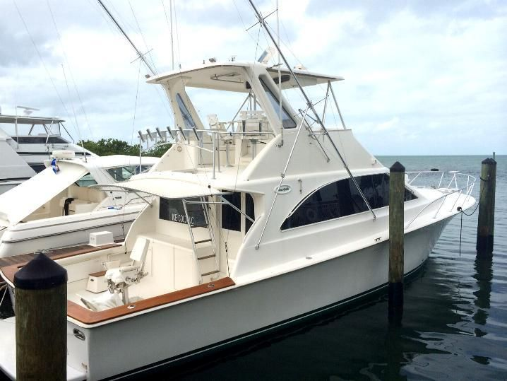 1995 48 ocean convertible sportfish power boat for sale for Ocean yachts 48 motor yacht for sale