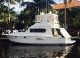 photo of 42' Silverton 420 with 12' RIB Tender 420