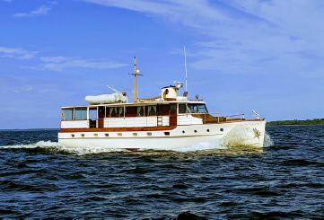 1947 Trumpy Houseboat