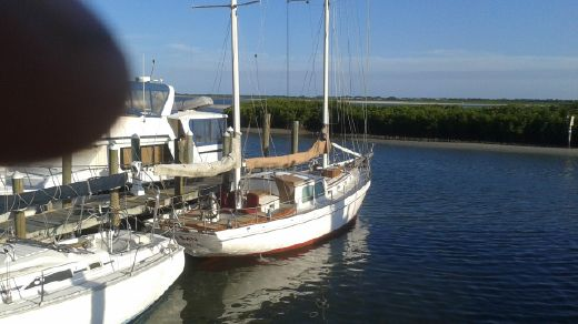 1959 Trumpy Ketch/Cutter