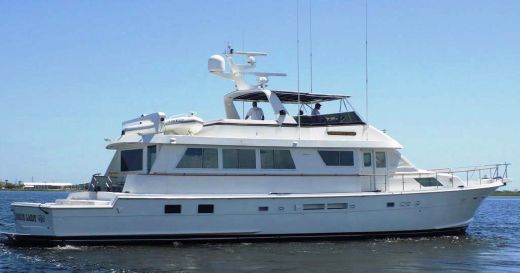 1990 Hatteras Motor Yacht with Cockpit