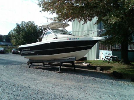 2004 Caravelle 230 Walk Around Stern Drive