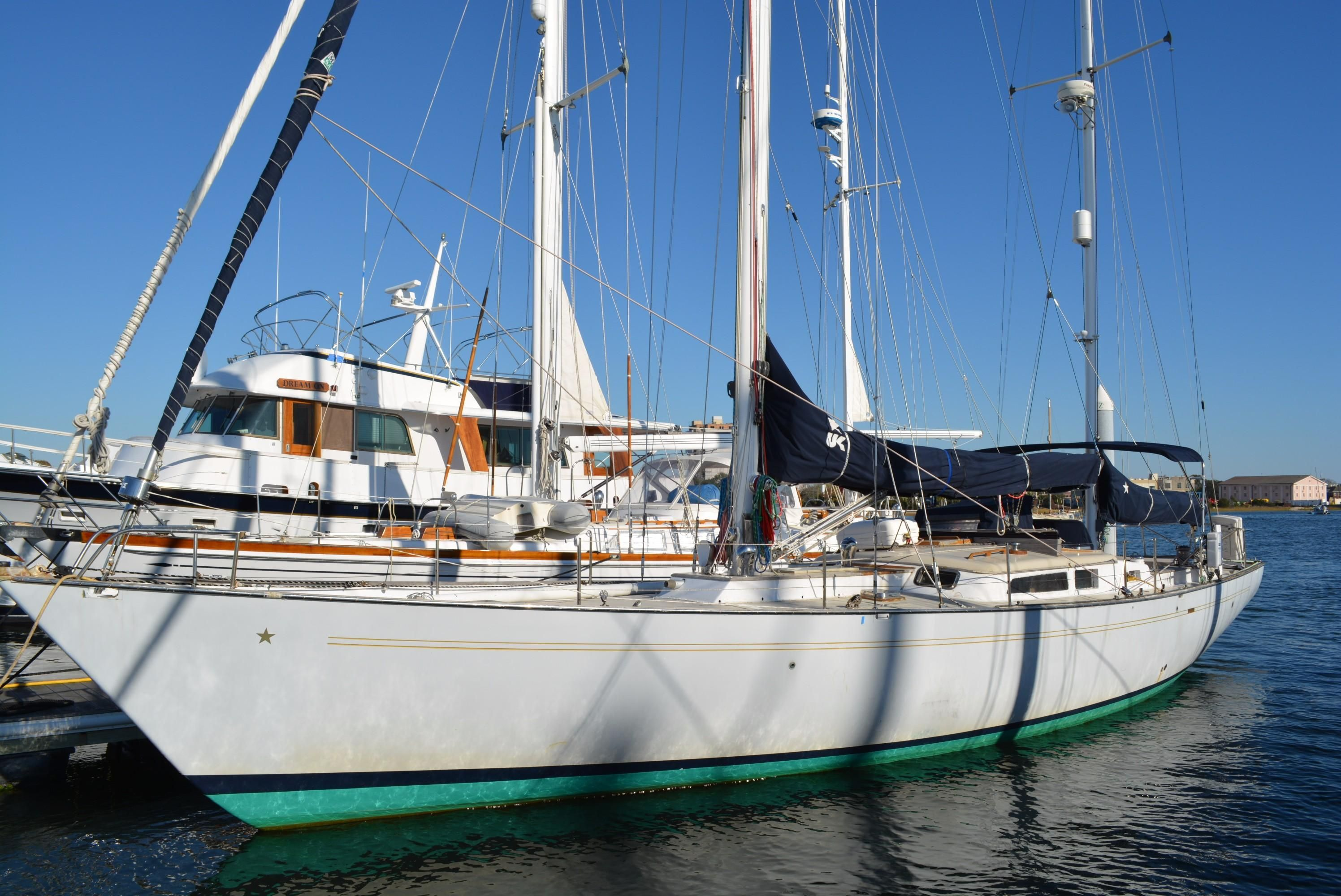 1972 custom aeromarine 50 sail boat for sale www for 50 ft motor yachts for sale