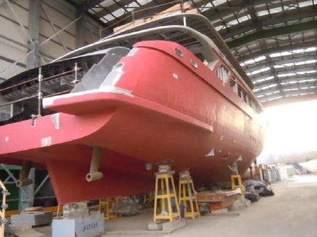 2012 Custom 40m Unfinished Yacht