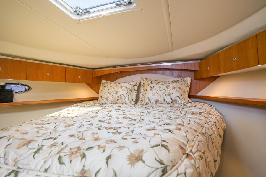 Tiara 36 Open Master Bed