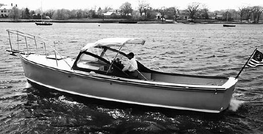 1970 Dyer 29 Bass Boat