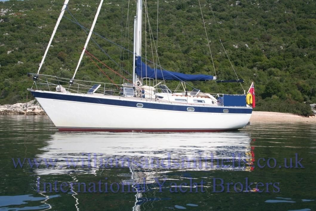 1985 Trident Warrior 38 Sail Boat For Sale Www