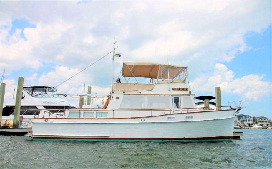 marine trawler til salg