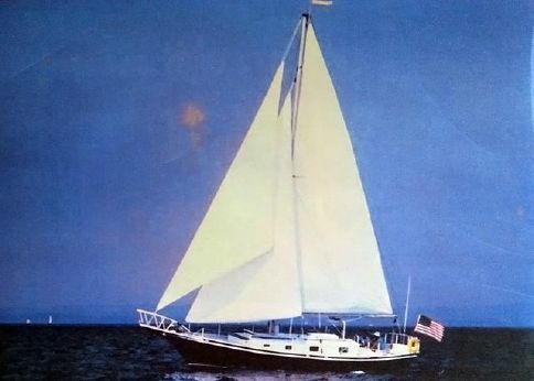 1979 Custom - By David Laux 44 Cutter Sloop