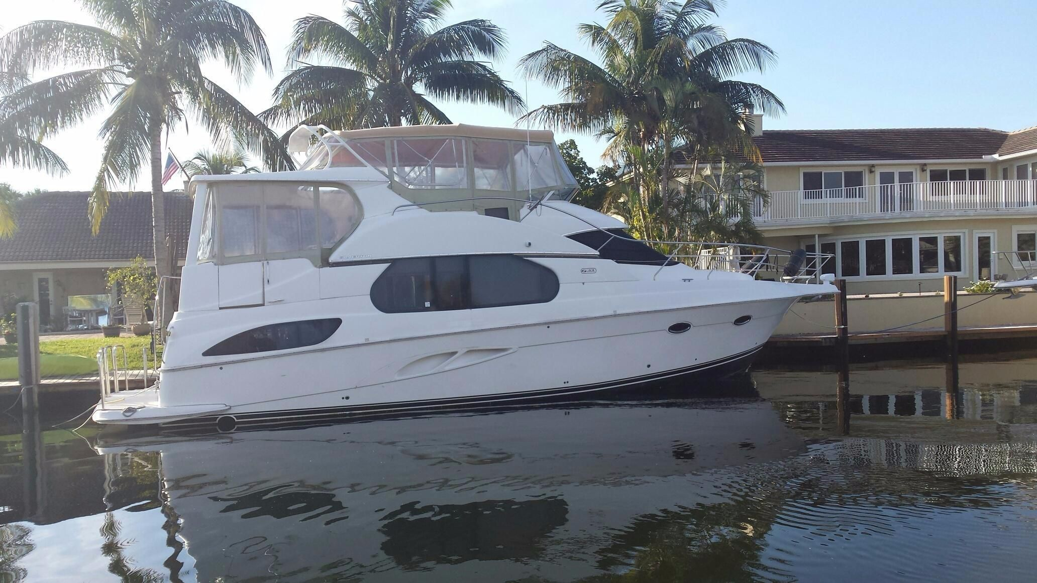 2004 Silverton 43 Motor Yacht Bow Thruster Power Boat For