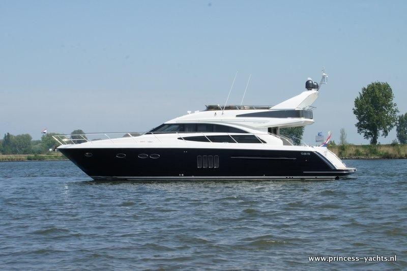 2008 Princess 62 Flybridge Power Boat For Sale