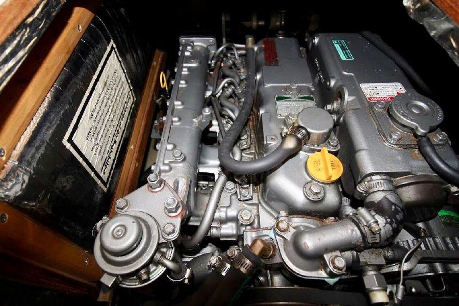 Hunter 460 Sailboat Diesel Engine