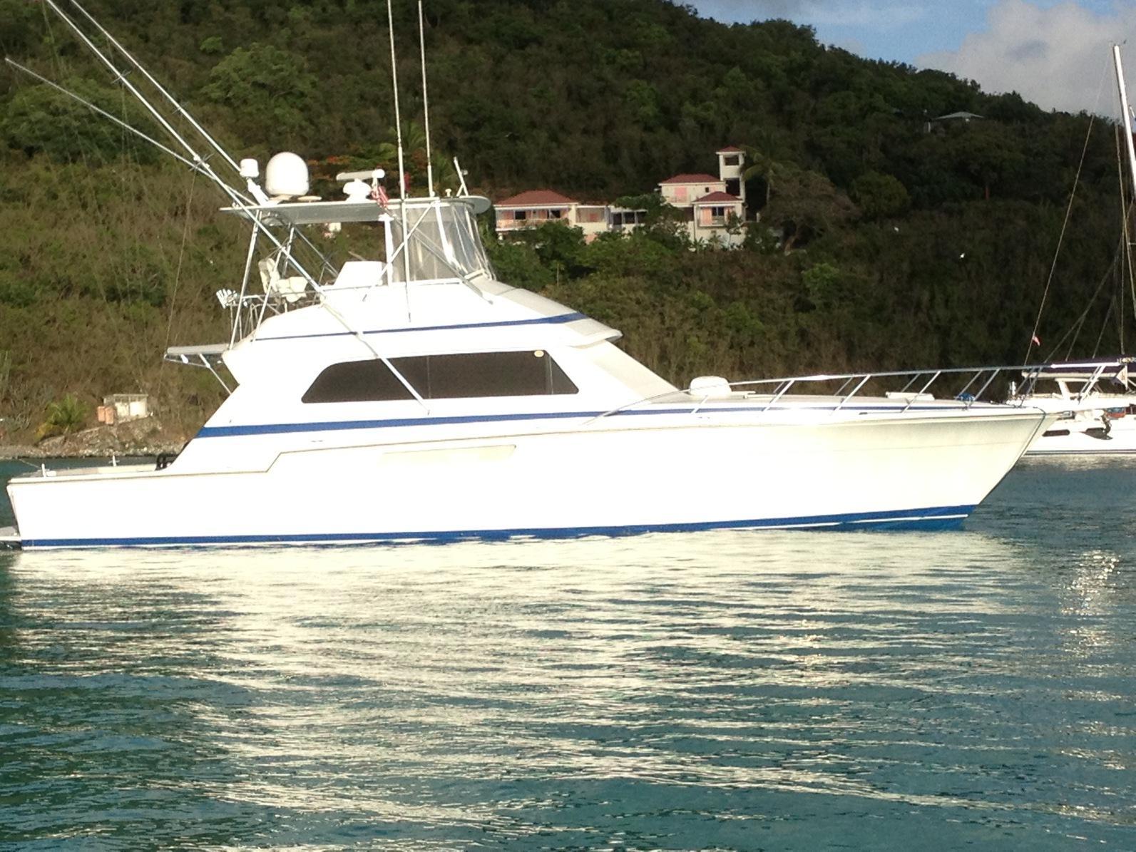 54 ft 1988 bertram yachts 54 convertible