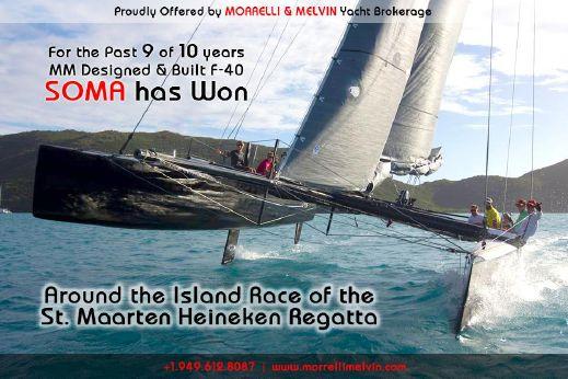 1986 Morrelli Formula 40 Catamaran RD Boatworks