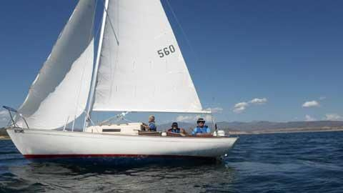 1974 Sea Sprite Weekender Sail