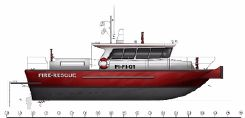 2015 New Build - 15m High Speed Fire Fighting Boat