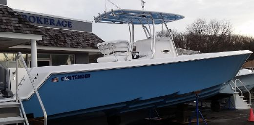 2015 Contender 35 Step Hull