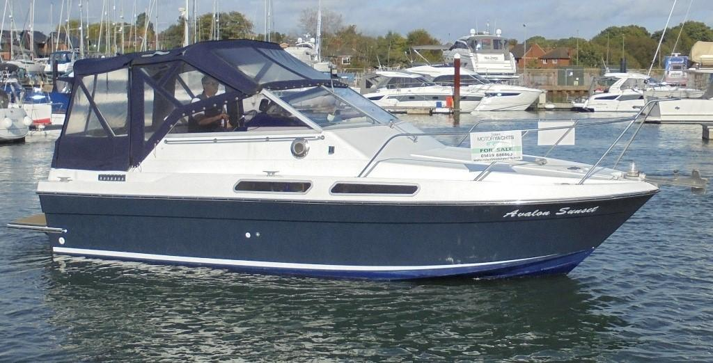 1985 Fairline 24 Carrera Power New And Used Boats For Sale