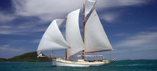 1906 Traditional Gaff rigged schooner