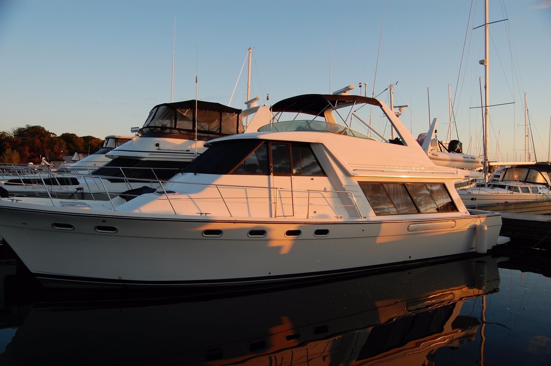1999 Bayliner 4788 Pilothouse Power Boat For Sale Www