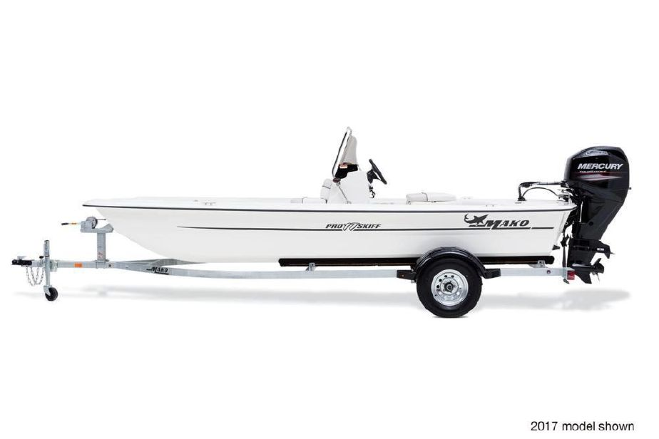 2018 Mako Pro Skiff 17 CC Power Boat For Sale - www.yachtworld.com
