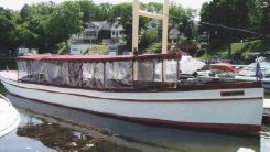 2003 Vintage Boatworks Fantail Launch, Replica