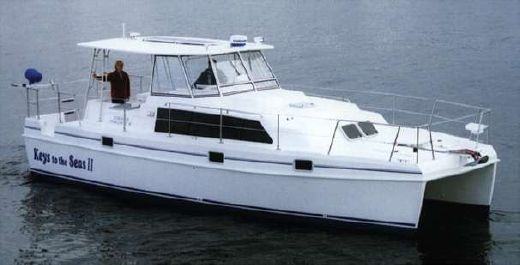 2001 Endeavour Catamaran Trawlercat 36