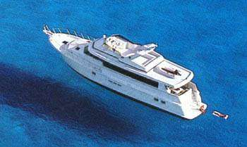 2000 Hatteras 75 Sport Deck